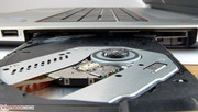 The DVD drive of HP's Envy 17.
