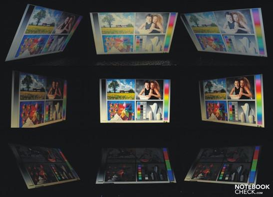 Viewing angles Dell Latitude E5510 (GMA HD, i7 640M)