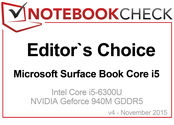 Editor's Choice in November 2015: Surface Book Core i5