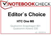 Editor's Choice in April 2014: HTC One M8