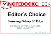 Editor's Choice in May 2015: Samsung Galaxy S6 Edge