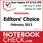Award Acer Aspire V3-571G IPS FHD