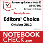 Award Samsung Galaxy Note II GT-N7100