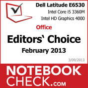 Award DELL Latitude E6530