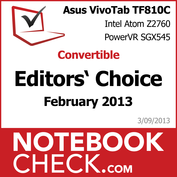 Award ASUS Vivo Tab TF810C