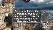 The EPIC Citadel Benchmark hangs in Ultra High Quality mode