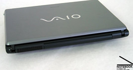 Sony Vaio VGN-FE31B Interfaces