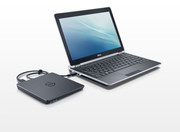 The E6220 does not come equipped with an optical drive, but a Dell external model can be attached.