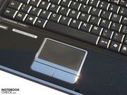 Extensively customisable touchpad.
