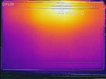 Thermal imaging, underside