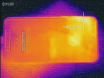 Heat map rear