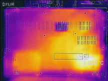 Full load underside (Flir One)
