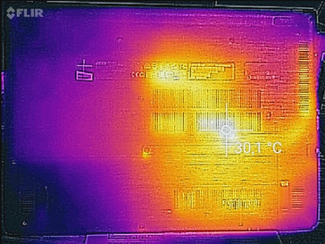 Heat-map bottom (idle)