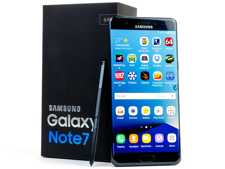 Samsung Galaxy Note 7 Smartphone Review