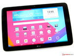 In review: LG G Pad 10.1 V700. Review sample courtesy of LG Germany.
