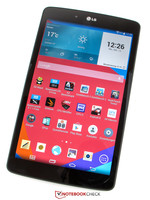 In review: LG G Pad 8.0 V480. Review sample courtesy of LG Germany.