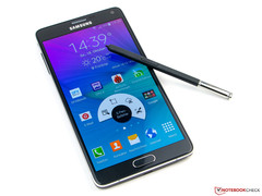 The successor of the Samsung Galaxy Note 4 (pictured) could feature USB 3.1 Type C