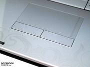 Partly arbitrary touchpad