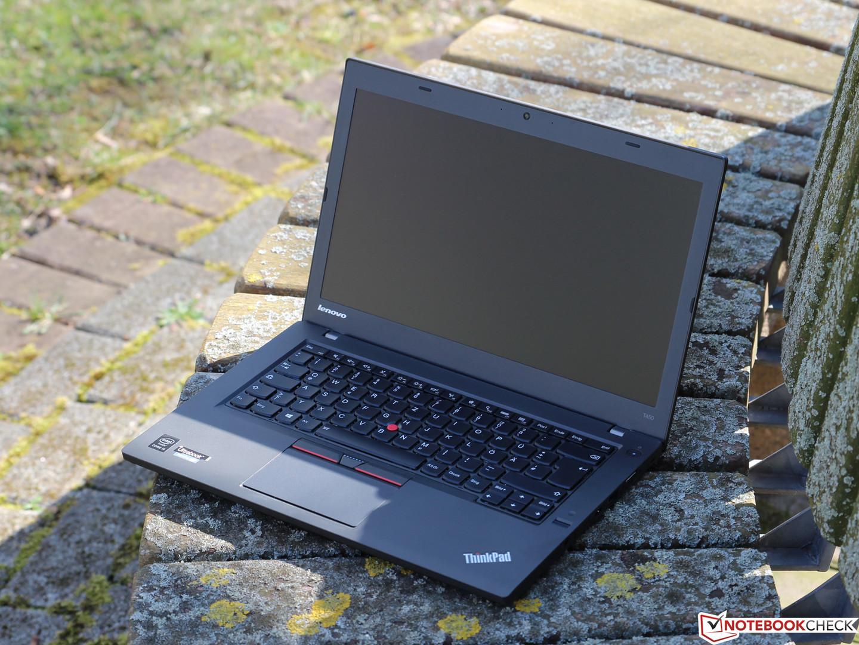 Lenovo ThinkPad T450 Ultrabook Review - NotebookCheck net