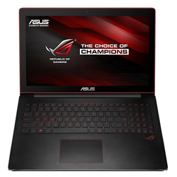 Asus ROG G501JW. Test model provided by Asus US