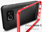 Case accessories show more images of Galaxy Note 5 and S6 Edge+