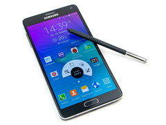 The updated Samsung Galaxy Note 4 will utilize a faster processor.