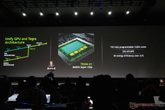Tegra K1 is also mentioned briefly