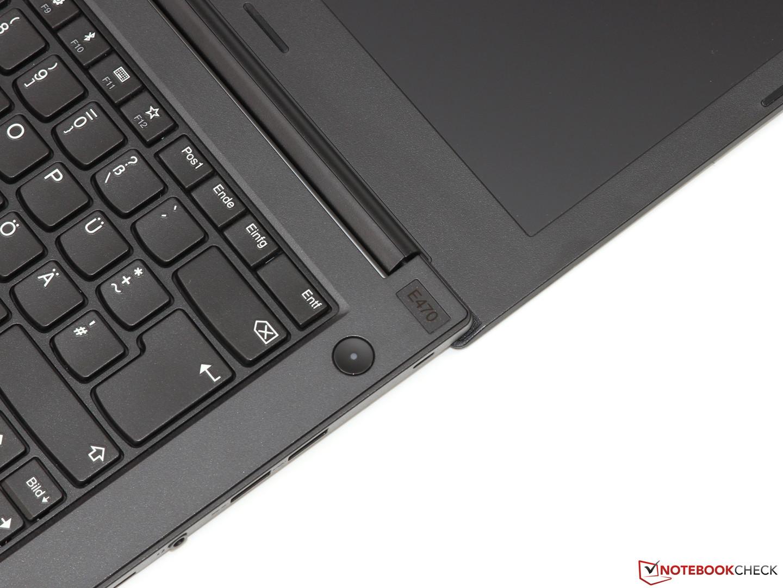 Lenovo ThinkPad E470 (Core i5, GeForce 940MX) Notebook Review