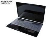 The Aspire 8950G's design is throughout successful.