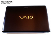 The typical Vaio label of course shouldn't be left out on Sony's E-Series.