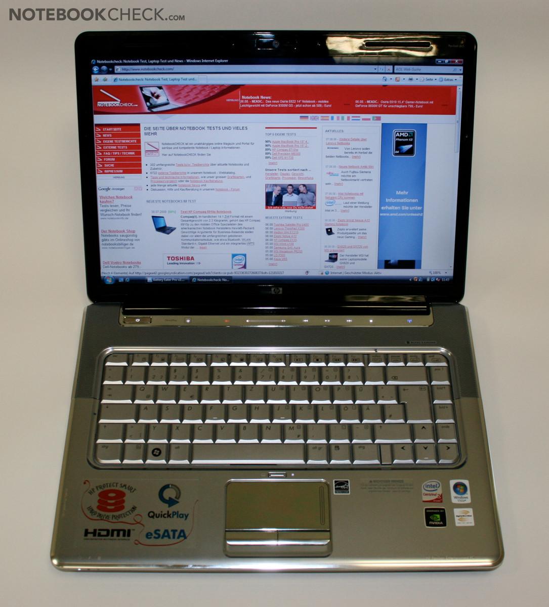 HP Pavilion dv5 1235dx Entertainment Notebook PC Driver