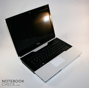 That there is a very interesting technology in the notebook can't really be seen at first sight of the FSC Amilo SA3650.