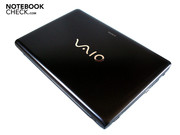 The Vaio VPC-EB1S1E/BJ is easy to carry around with a size of 370 x 248 x 31 mm and a weight of 2.70 kg.