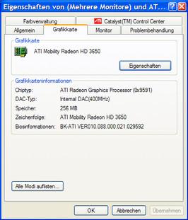 ...Intel GMA 4500M HD.