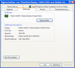 Thinkpad T500 with ATI Mobility Radeon HD3650 and...
