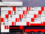 Just one of many problems how GPU glitches on the MacBook Pro can look like.