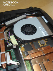 Graphic card fan of the Radeon HD4650