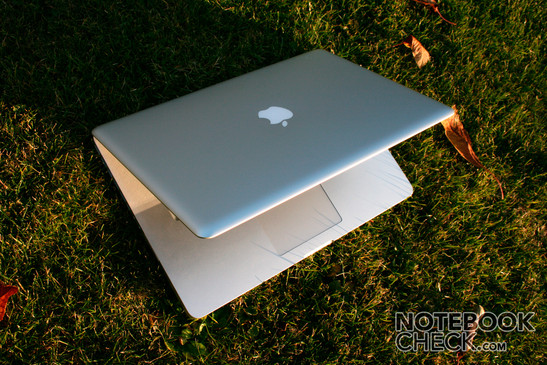 Apple MacBook Pro - small, light, beautiful, strong, reflecting