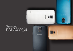 "5.1"" Galaxy S5 introduced with fingerprint scanner and 16MP camera"