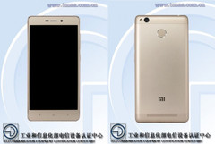 TENAA documents suggest a Xiaomi Redmi 3 successor