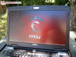 Outdoor use MSI GX70H-A108972811B
