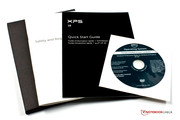 Warranty, Quick Start Guide and Windows DVD.