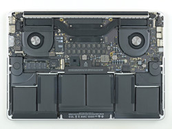 Memory, processor and graphics card are soldered (source: MBP 15 Late 2013, ifixit.com)
