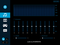 Harman Audio Menu