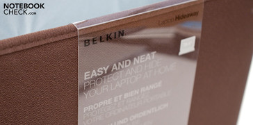 The Belkin Laptop Hideaway has storage space in spades.
