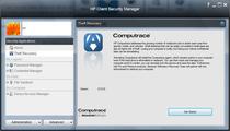 مدیر امنیتی HP Client