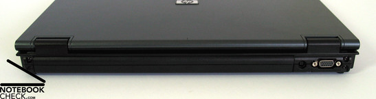 HP Compaq nx7400 Intefaces