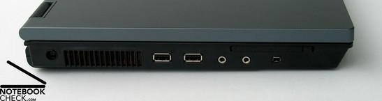 HP Compaq 6710b Interfaces