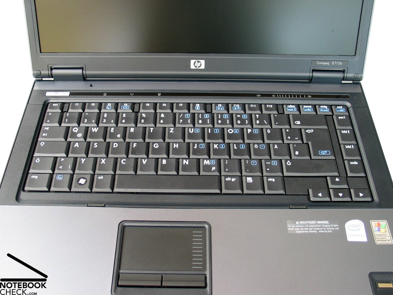 Review Hp Compaq 6710b Notebook