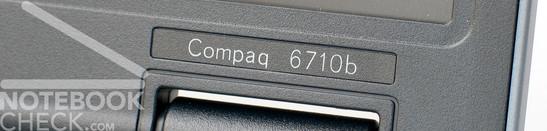 HP Compaq 6710b Logo